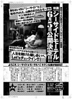 「別冊漫画ゴラク'10年5月号 MOTEL映画告知」/日本文芸社